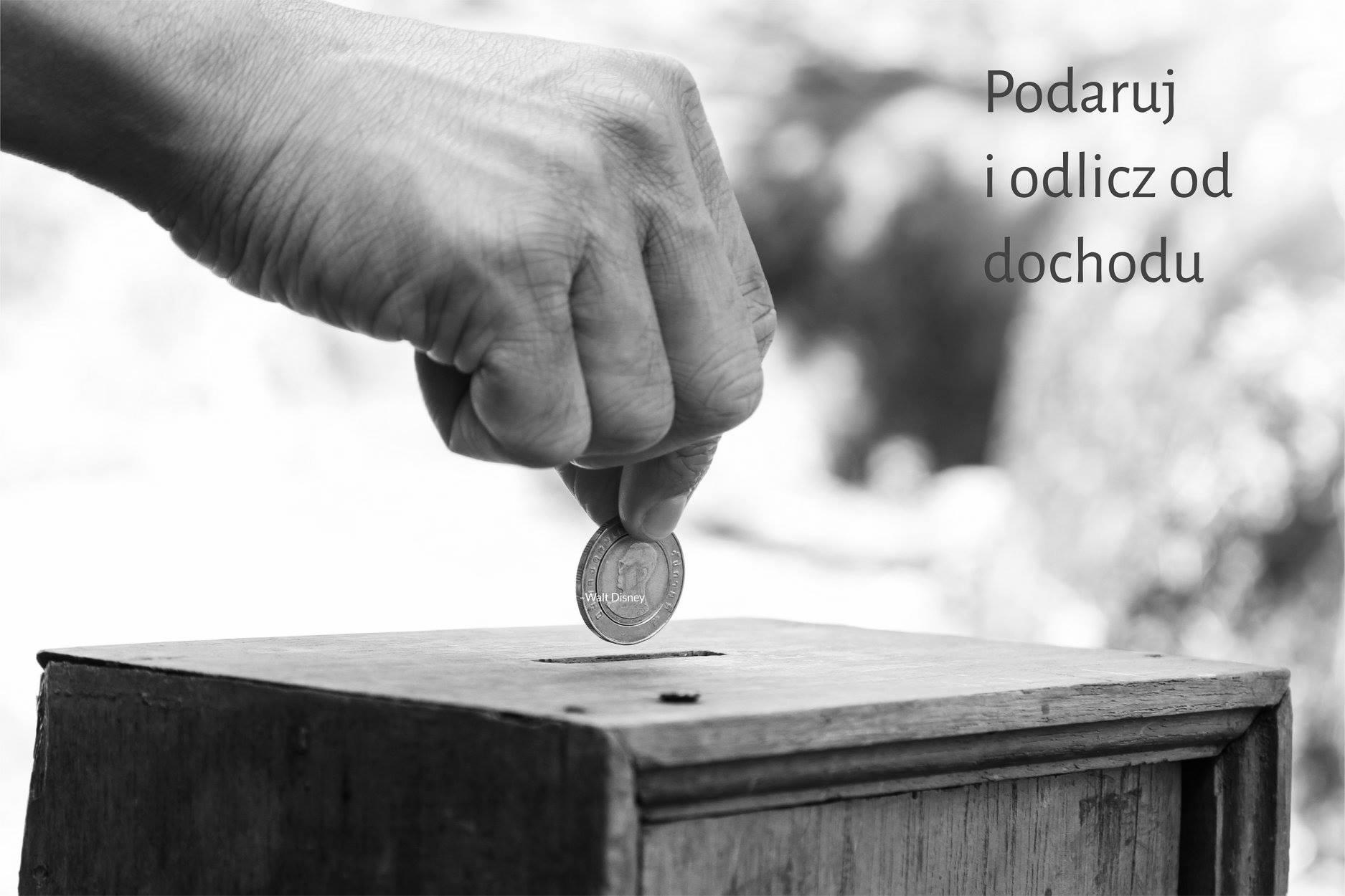 , (Polski) Wesprzyj potrzebujących – wpłać darowiznę jeszcze w grudniu – odlicz w rozliczeniu rocznym, płacąc mniejszy podatek.
